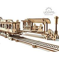 Механический город «Трамвайная линия» | Ugears, фото 1