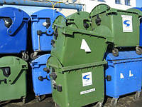 Контейнер для мусора б/у евроконтейнер 1100 литров