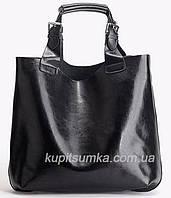 Кожаная женская сумка сумка в сумке, фото 1