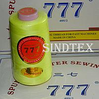 """027 Нитки """"777""""  швейные цветные 40/2 4000ярдов (от 6 бобин)"""