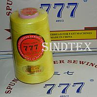 """028 Нитки """"777""""  швейные цветные 40/2 4000ярдов (от 6 бобин)"""