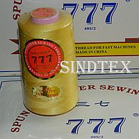 """030 Нитки """"777""""  швейные цветные 40/2 4000ярдов (от 6 бобин)"""