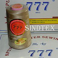 """043 Нитки """"777""""  швейные цветные 40/2 4000ярдов (от 6 бобин)"""