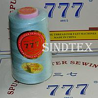 """049 Нитки """"777""""  швейные цветные 40/2 4000ярдов (от 6 бобин)"""