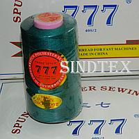 """085 Нитки """"777""""  швейные цветные 40/2 4000ярдов (от 6 бобин)"""