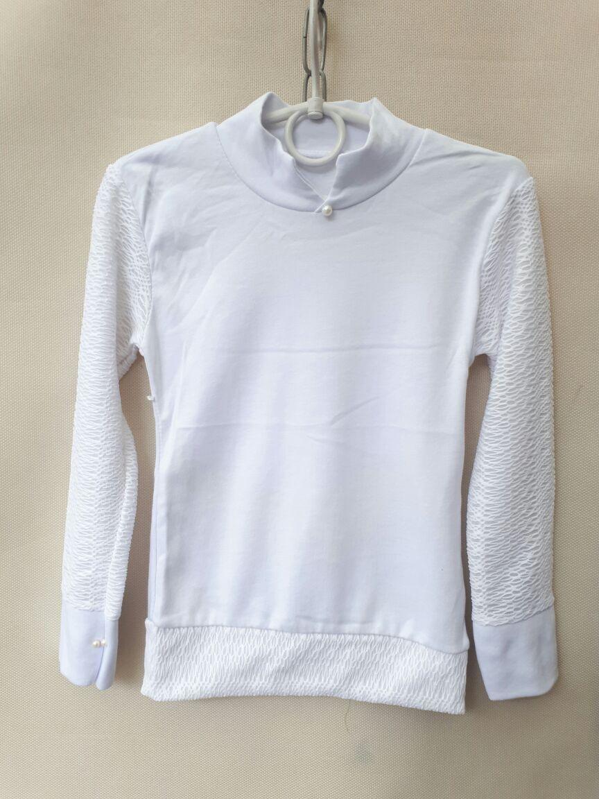 8684ff7592c Школьная блуза нарядная для девочек 5-8 лет. Белая . Оптом .Турция ...