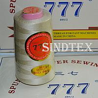 """098 Нитки """"777""""  швейные цветные 40/2 4000ярдов (от 6 бобин)"""