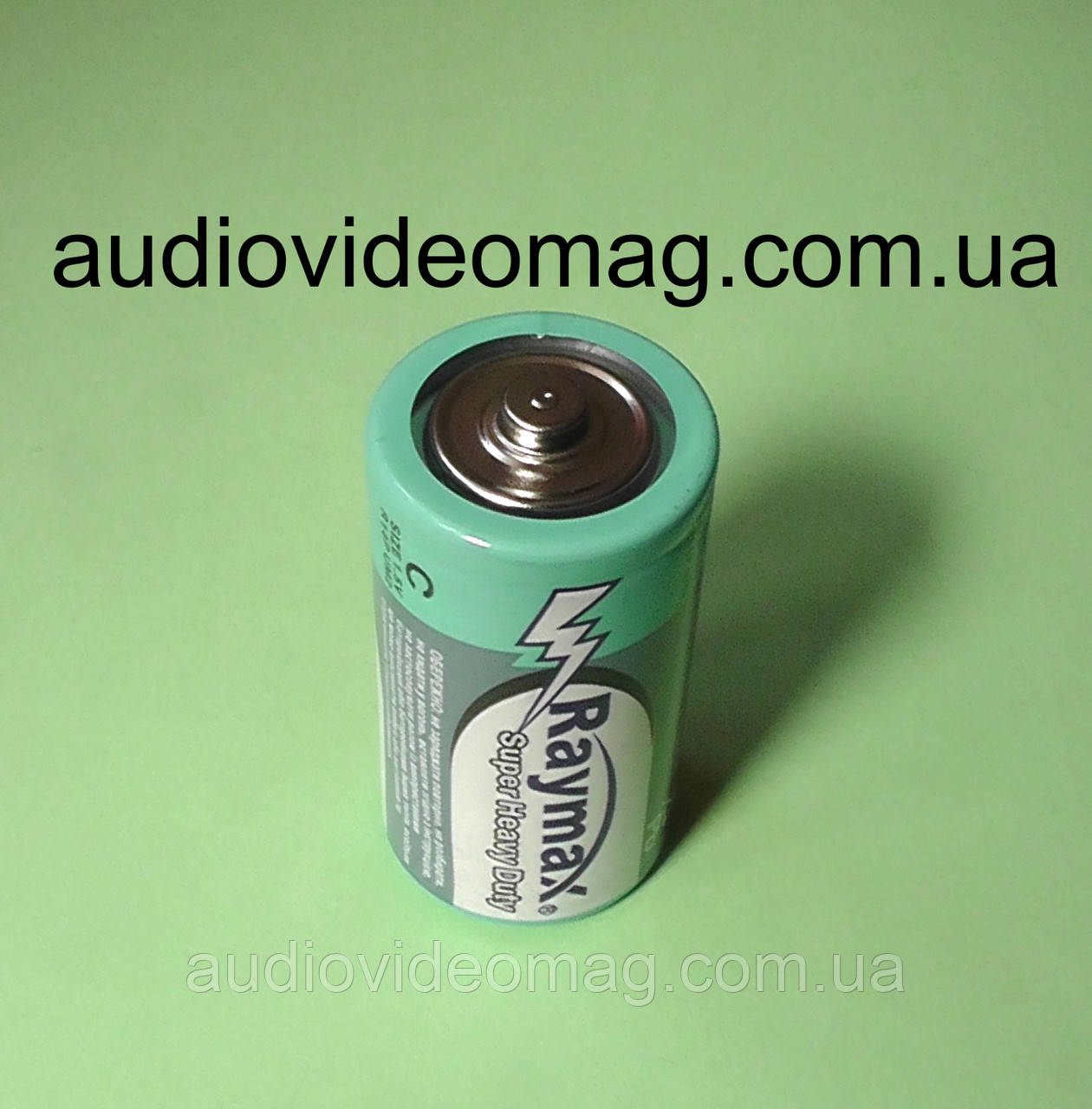 Батарейки R14 (тип С) 1.5V Raymax, солевая