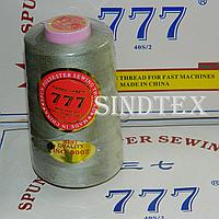 """102 Нитки """"777""""  швейные цветные 40/2 4000ярдов (от 6 бобин)"""