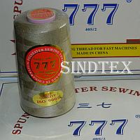 """126 Нитки """"777""""  швейные цветные 40/2 4000ярдов (от 6 бобин)"""