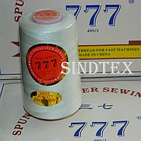 """163 Нитки """"777""""  швейные цветные 40/2 4000ярдов (от 6 бобин)"""