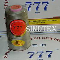 """171 Нитки """"777""""  швейные цветные 40/2 4000ярдов (от 6 бобин)"""