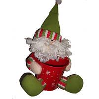 Дед Мороз с красной ванной рождественские куклы украшения