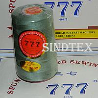 """229 Нитки """"777""""  швейные цветные 40/2 4000ярдов (от 6 бобин)"""