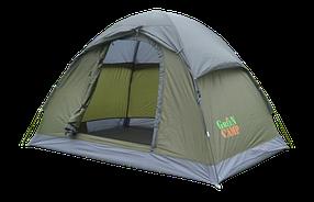 Туристическая палатка Green Camp 3005 2-х местная. 1-но слойная