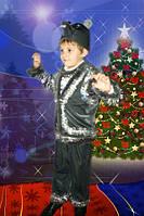 Новогодний костюм Мышка для мальчика