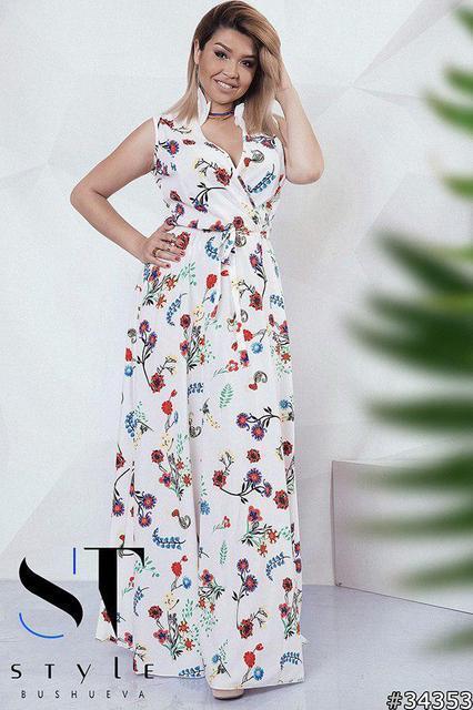 Восхитительное платье макси Размеры: 48 - 50, 52-54