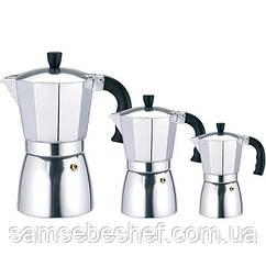 Кофеварка гейзерная MR 1667-3