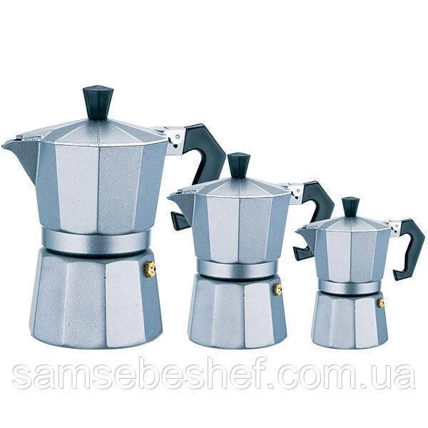 Кофеварка гейзерная MR 1666-9