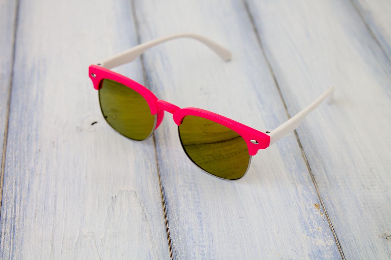Детские солнцезащитные очки Clabmaster UV400 Красные (8482-3)