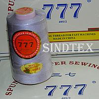 """291 Нитки """"777""""  швейные цветные 40/2 4000ярдов (от 6 бобин)"""