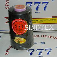 """314 Нитки """"777""""  швейные цветные 40/2 4000ярдов (от 6 бобин)"""