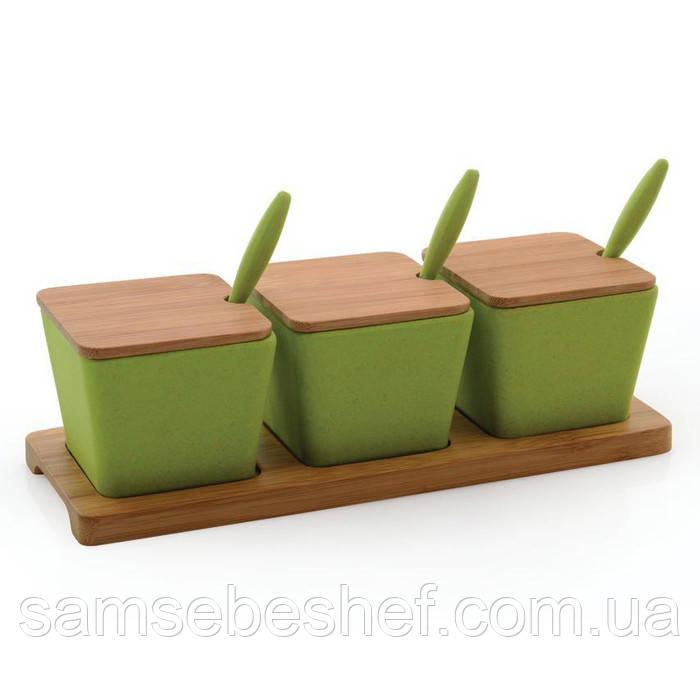 Набор баночек на подставке с ложками / набор для специй Berghoff Cook&Co 10 пр. 2800051