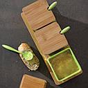 Набор баночек на подставке с ложками / набор для специй Berghoff Cook&Co 10 пр. 2800051, фото 5