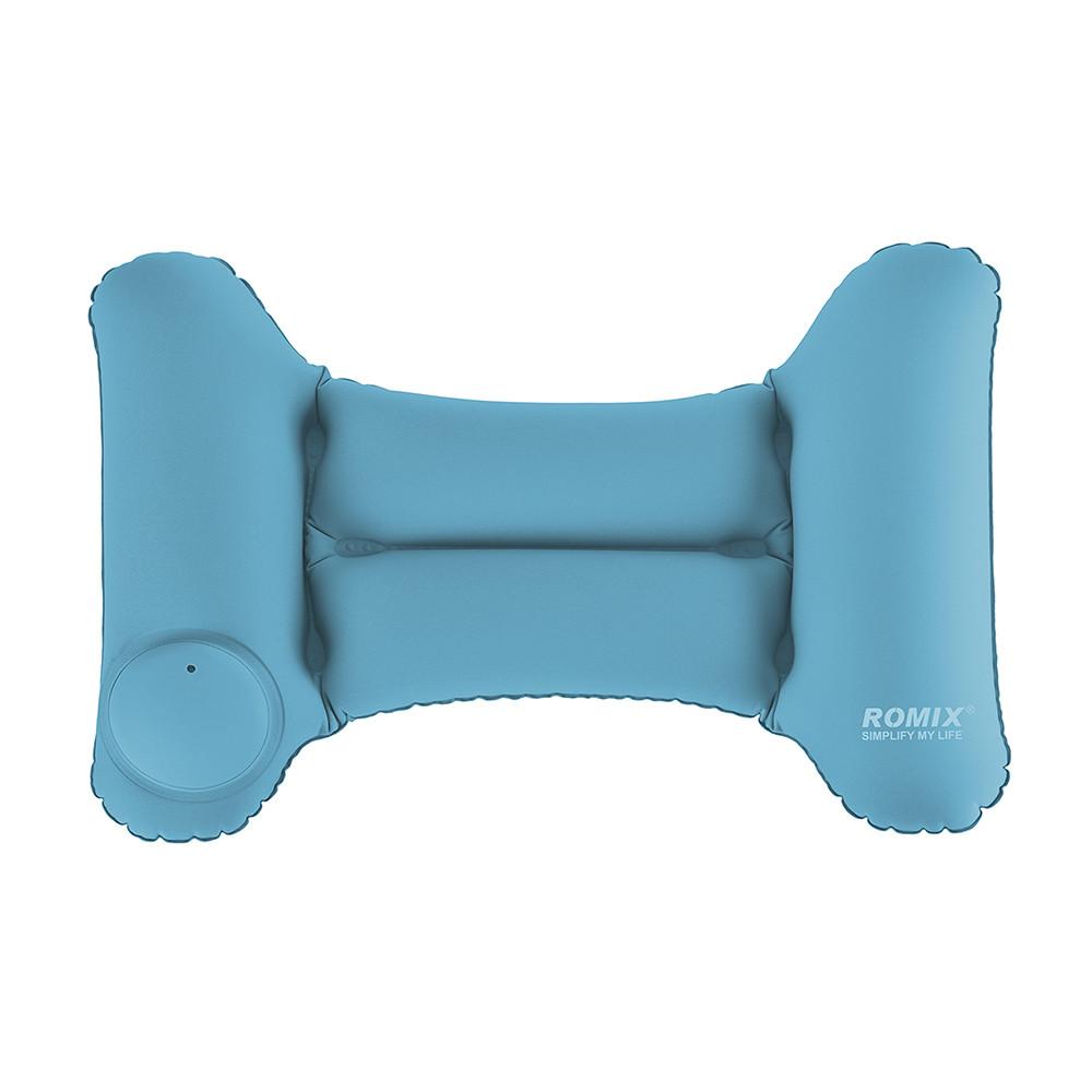 Надувная подушка ROMIX Голубая (RH35WBL)