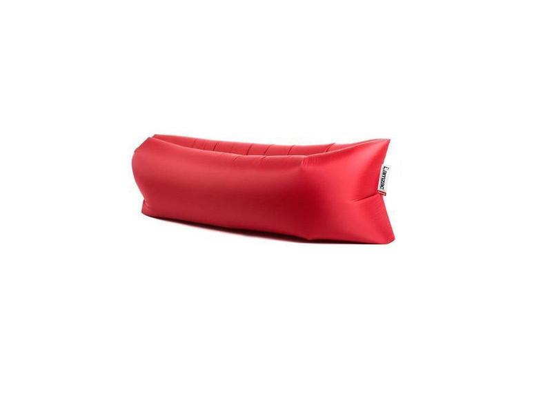 Надувной матрас для отдыха Ламзак Lamzak 190х90 Красный