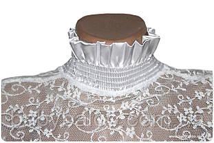 Гольф-стойка для девочки гипюр (рост от 128 см до 164 см), фото 2