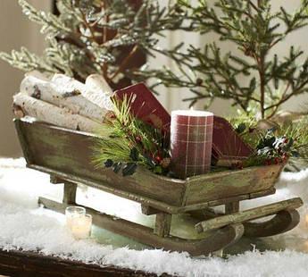 Кашпо новогоднее