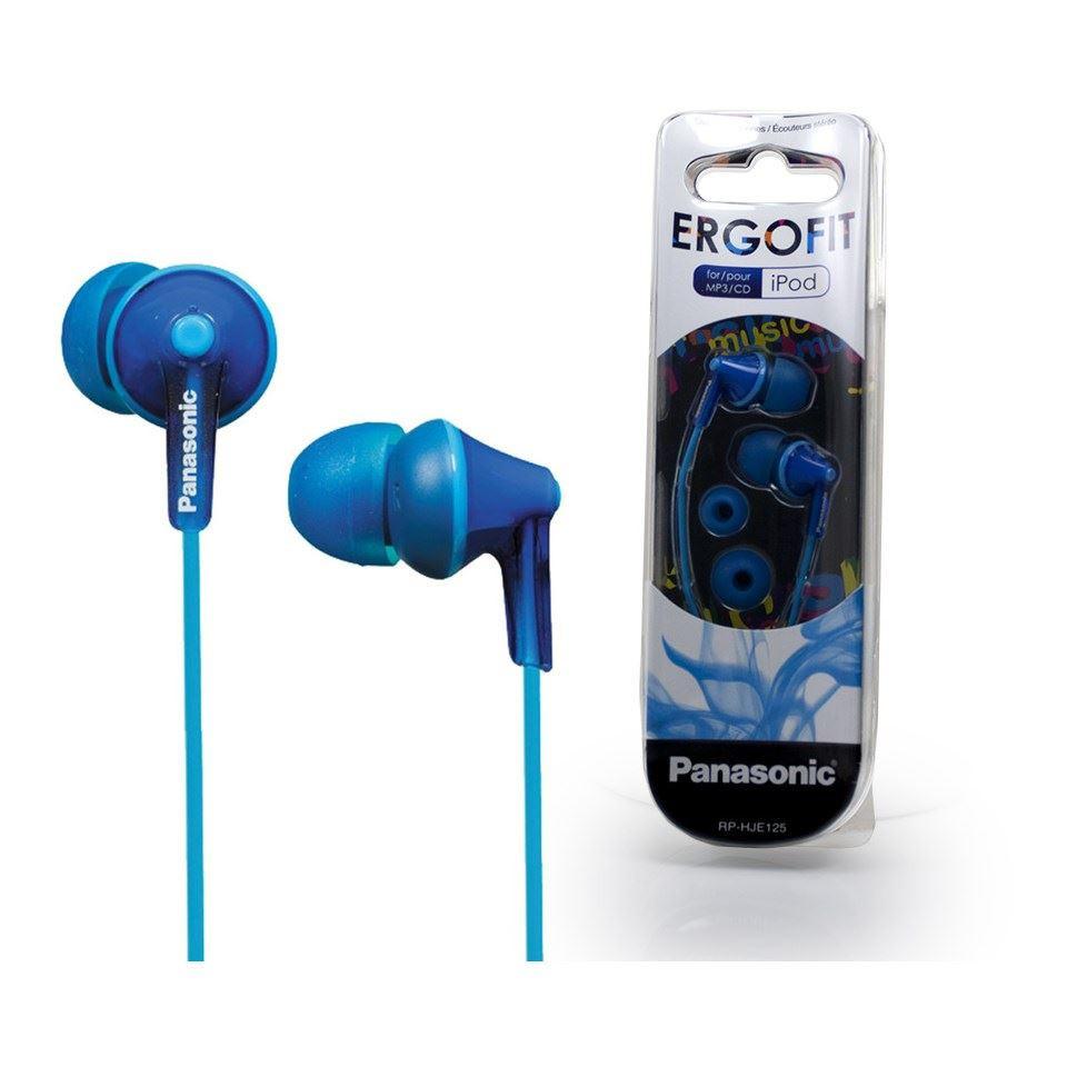 Наушники Panasonic RP-HJE125, Ergofit, синий