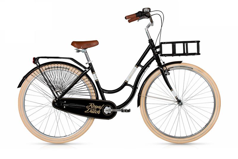 Велосипед Kellys Royal Dutch 28 430 мм Black