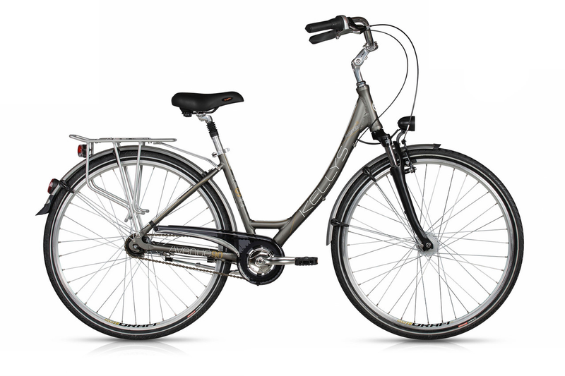 Велосипед Kellys 17 Avenue 90 430 мм Серый