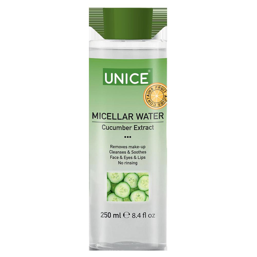 Мицелярная вода с экстрактом огурца