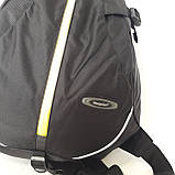 Стильный спортивный рюкзак Onepolar 1305 на одно плечо  20 л  сумка черный, фото 2