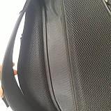 Стильный спортивный рюкзак Onepolar 1305 на одно плечо  20 л  сумка черный, фото 6