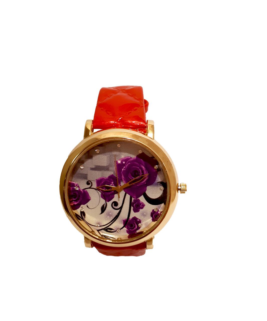 Часы женские CFTY Красные (ФК-0032)