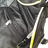 Стильный спортивный рюкзак Onepolar 1305 на одно плечо  20 л  сумка черный, фото 9