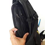 Стильный спортивный рюкзак Onepolar 1305 на одно плечо  20 л  сумка черный, фото 10