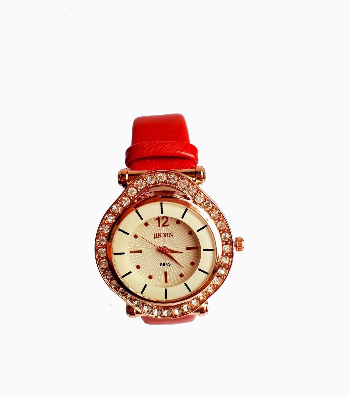 Часы женские Jin Xin 4214 Красные
