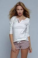 Пижама женская с шортами хлопковая Lilian, Sensis