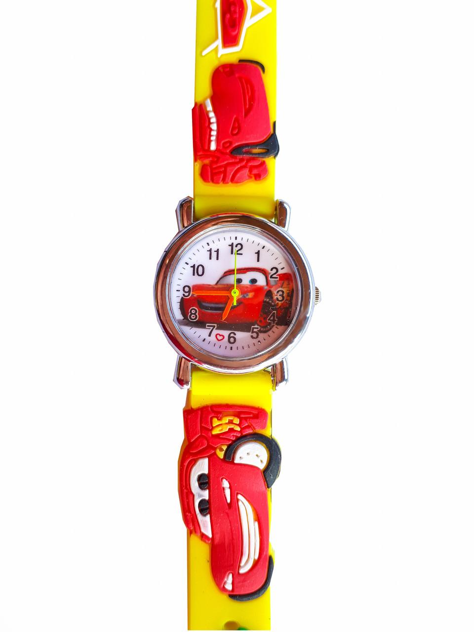 Часы детские Cars Тачки Желтые (C-180)