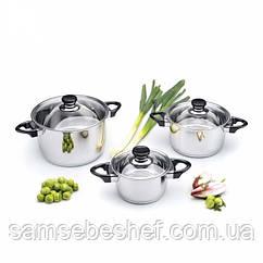 Набор кухонной посуды Bergoff Vision Premium, 6 предметов, 1112459