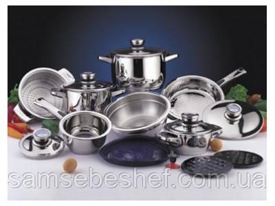 Набор кухонной посуды Berghoff Pride New CromoTanium 16 пр., 1116525