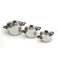 Набор кухонной посуды Bergoff Vision Prima, 6 предметов, 1112473