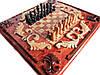 Шахматы на подарок,ручная работа.