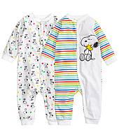 """Человечки для новорожденного """"Snoopy""""  1-2, 2-4 месяца"""