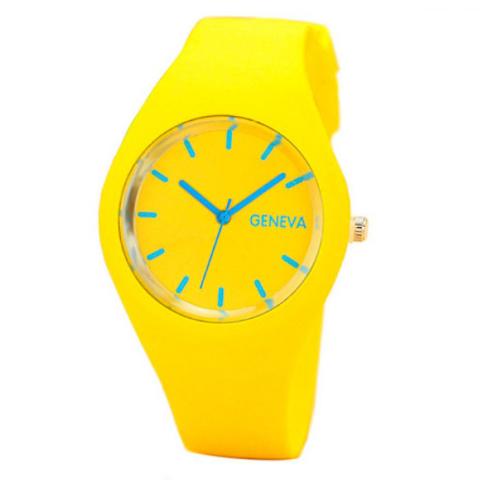 Женские часы Geneva 5077 Yellow